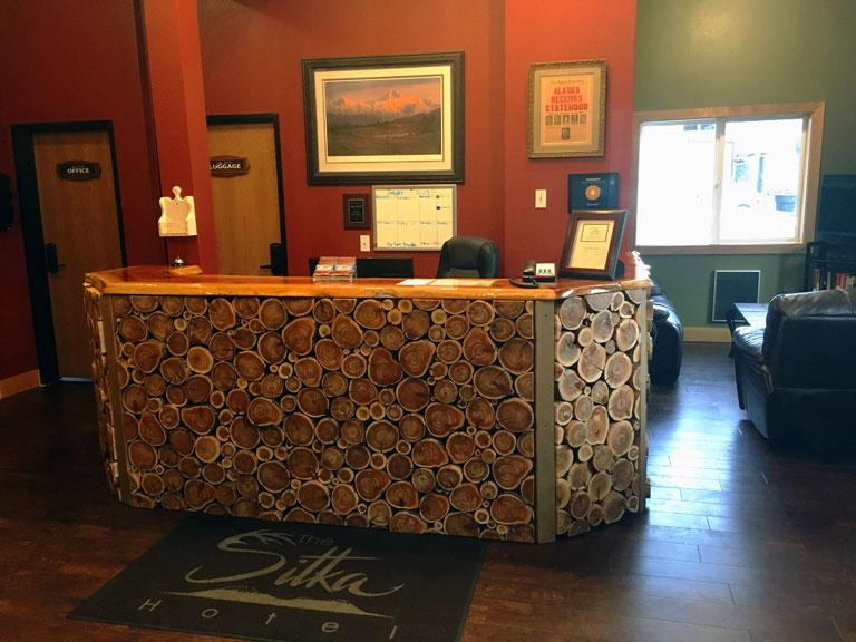 Sitka Hotel Front Desk