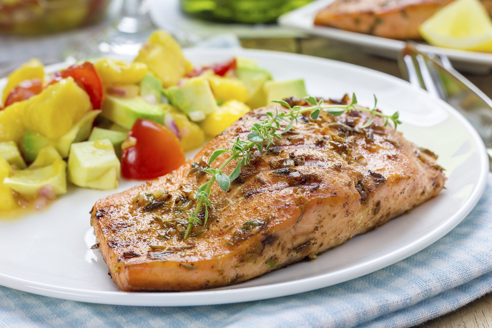 Herb Crusted Salmon Filet