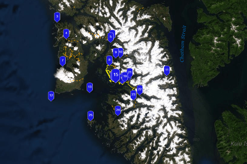 Sitka-fishing-map