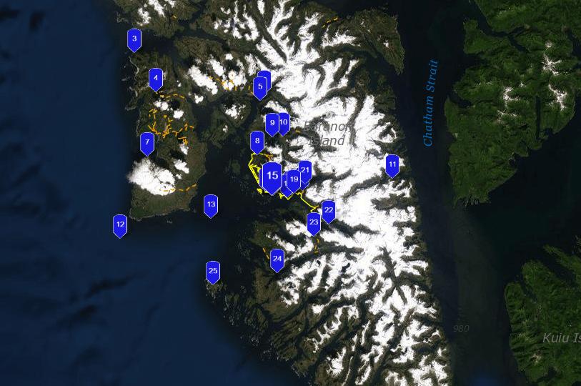 Sitka-fishing-map