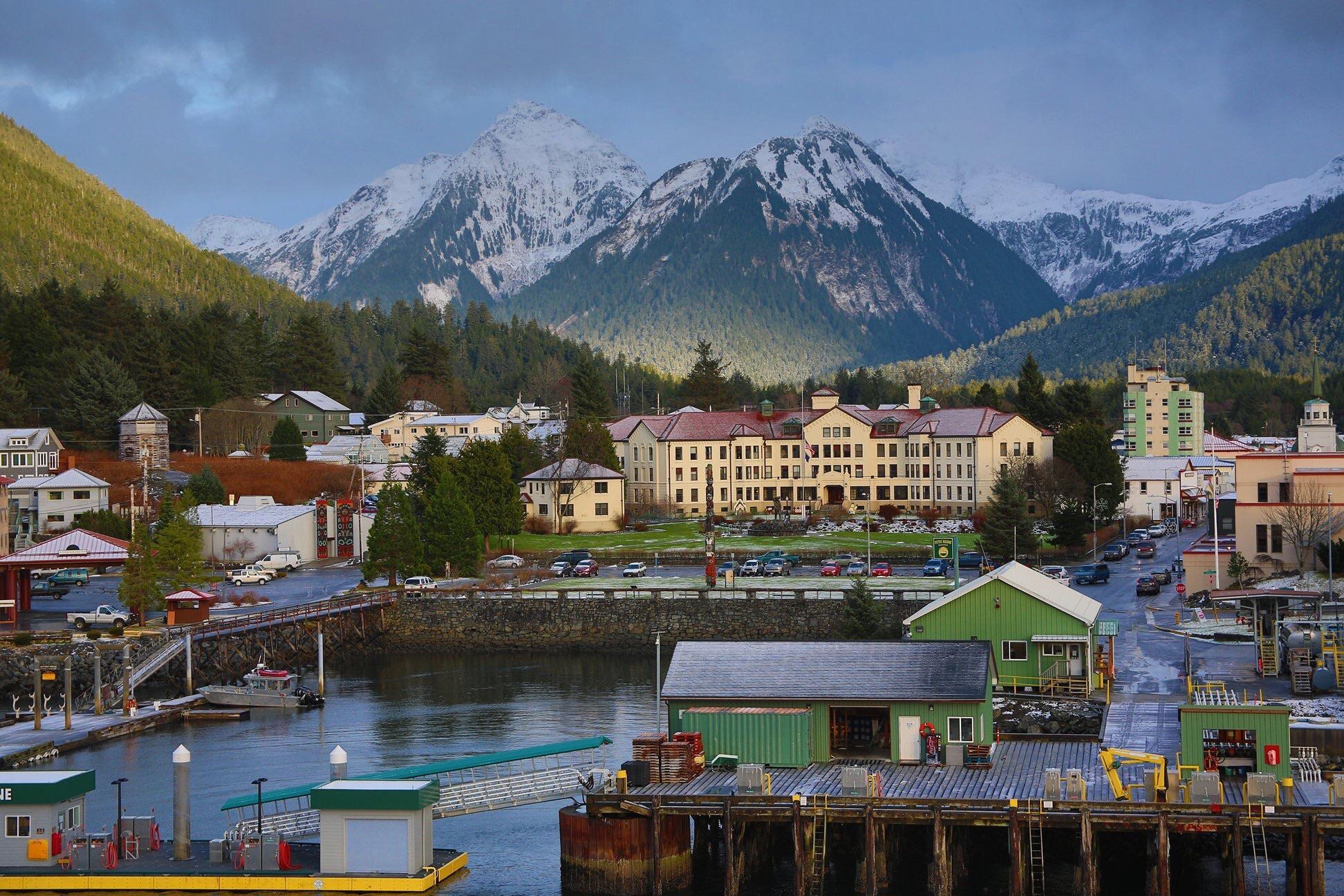 Sitka Alaska Town