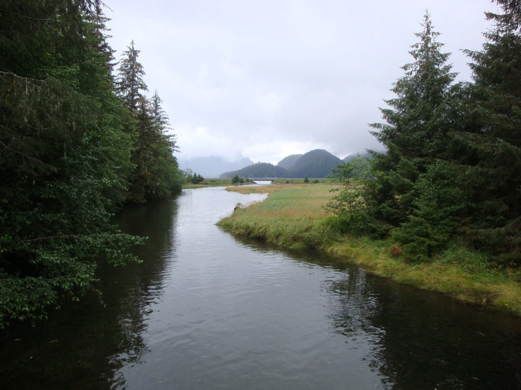 Photo of the Site of Old Sitka Historic Park